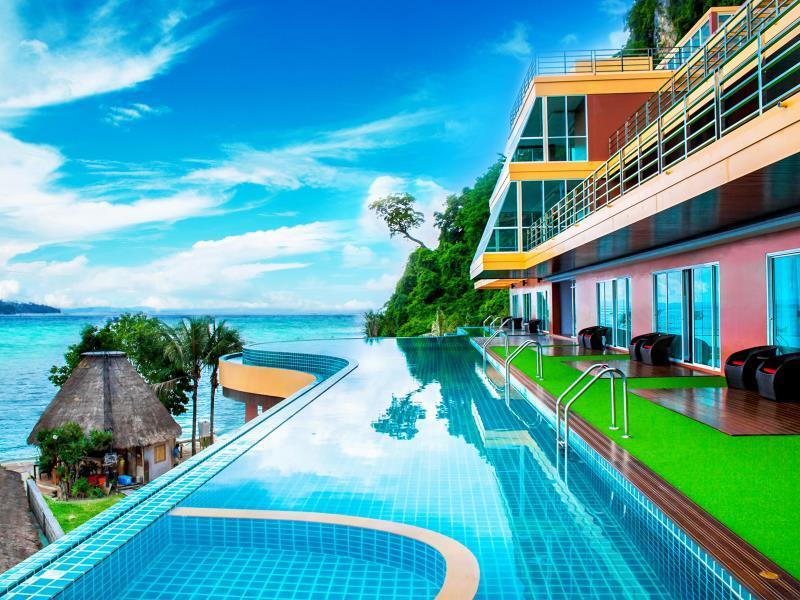 Phi Phi Cliff Beach Resort Pantai Tonsai Koh Phi Phi Mulai