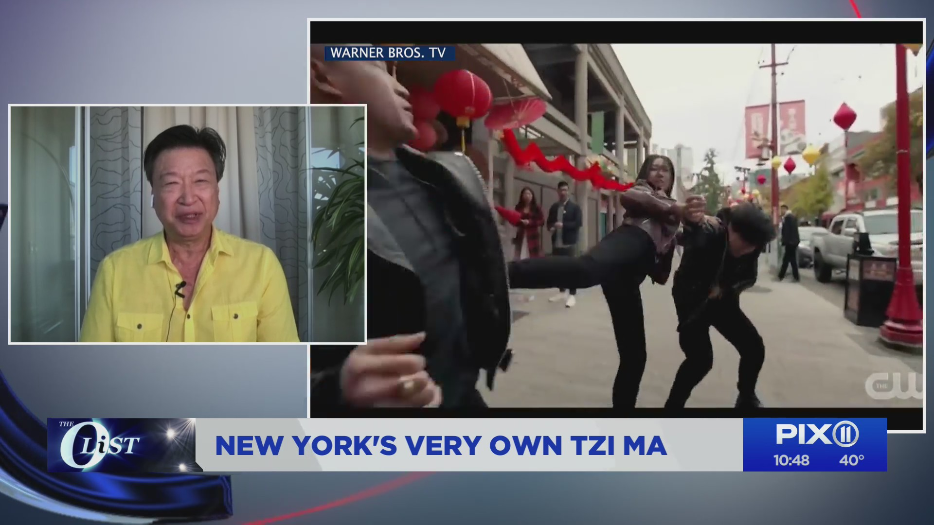 'Kung Fu' actor Tzi Ma talks to the PIX11 Morning News about the new CW series