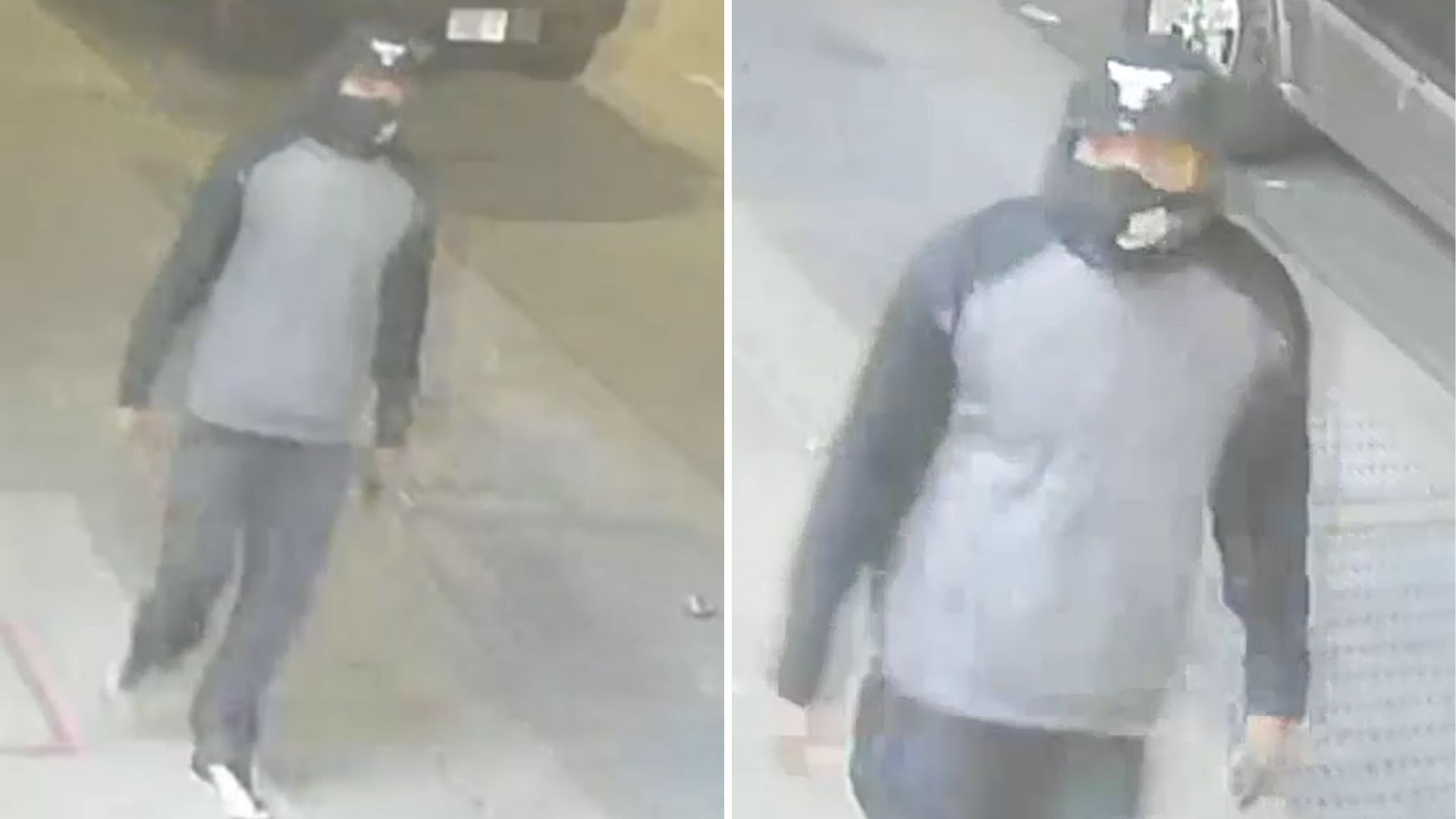Surveillance images of a man police believe sexually assaulted a woman in Williamsburg, Brooklyn on April 19, 2021, the NYPD said.