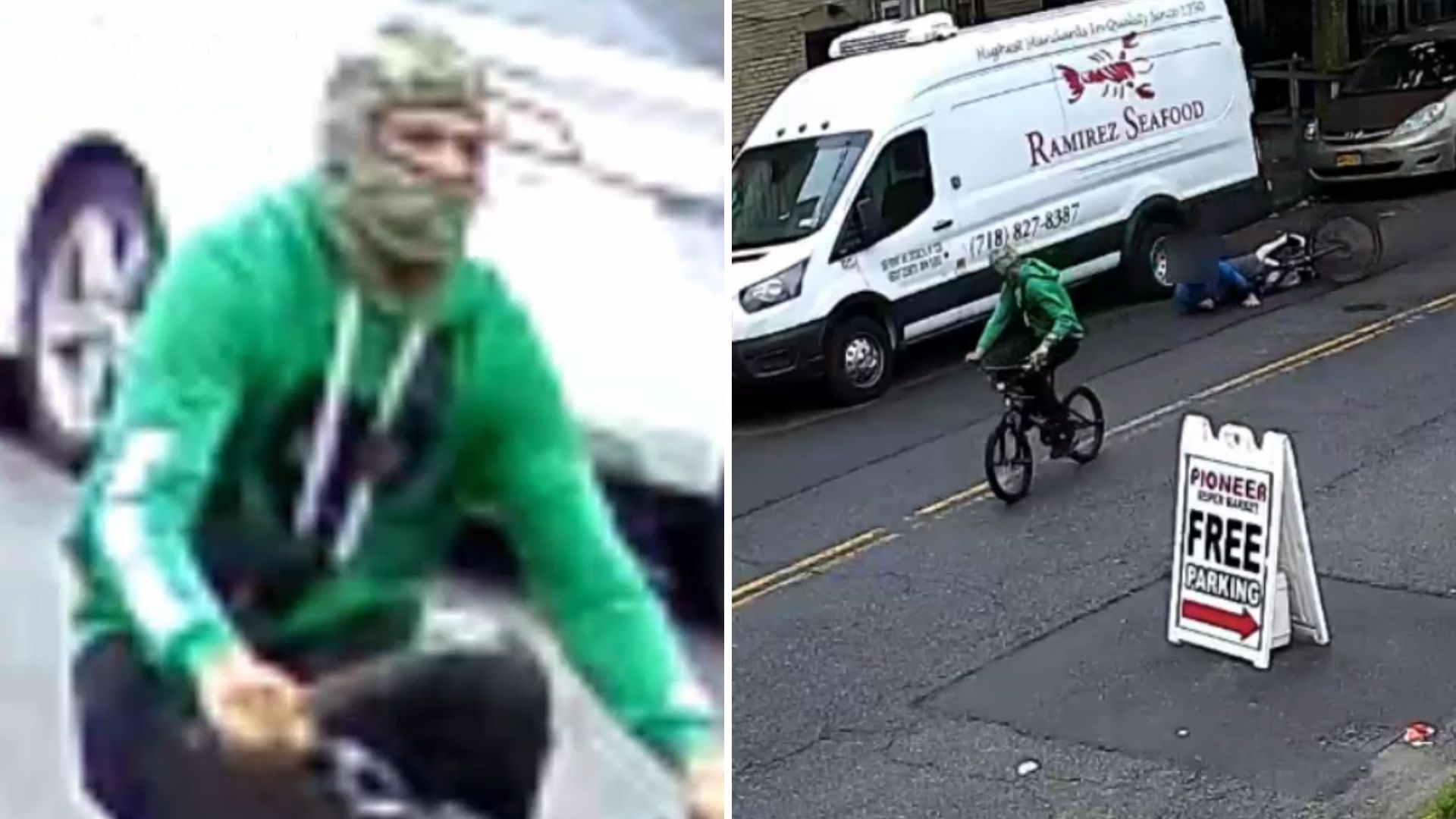 Food delivery stabbing