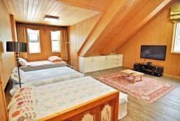 120平方米2臥室獨立屋 (江陵市中心) - 有2間私人浴室 gangneung위촌리 양지바른 전원주택. 해변 15분 거리 (12인실)