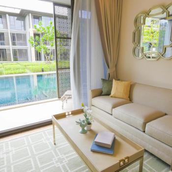 Luxury oceanfront condominium Phuket Thailand
