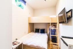 14平方米開放式公寓(福岡) - 有1間私人浴室 Minimalistic studio 8min walk to Tenjin sta+WIFI