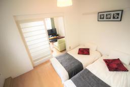 30平方米1臥室公寓(難波) - 有0間私人浴室 Near Tsutenkaku! Comfy room for 6 people! HB403