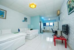 600平方米1臥室(布袋鎮) - 有1間私人浴室 Faith Hope Love hostel(Aegean Sea Impression)