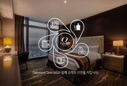 仁川奥卓豪景酒店公寓 Oakwood Premier Incheon Hotel