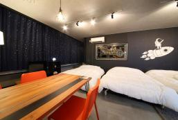 45平方米1臥室公寓(大阪) - 有1間私人浴室 Exsaison House Imamiya 201