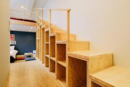 24平方米開放式公寓(福岡) - 有1間私人浴室 Stunning homely loft apartment 8min walk Tenjinsta