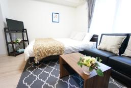 25平方米1臥室公寓(新大阪) - 有1間私人浴室 Free WIFI Near Umeda! Comfort Modern Chic room 201