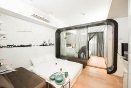 25平方米開放式公寓 (西門町) - 有1間私人浴室 Taipei M2/Luxury/Taipei 101/Ximen MRT/1-5P