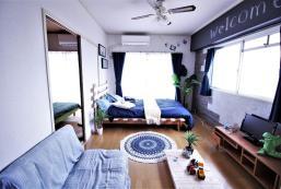 50平方米2臥室公寓(難波) - 有1間私人浴室 Max 8ppl/Sta is 4min/Namba,Dotonbori,USJ/Room 501