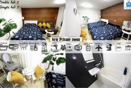 35平方米1臥室公寓 (難波) - 有1間私人浴室 MTM nihonbashi 201
