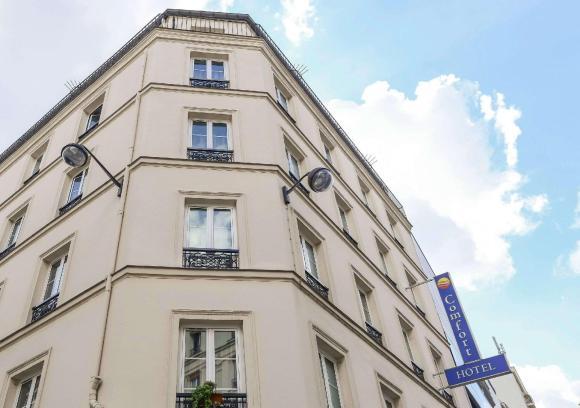 Comfort Hotel Nation Pere Lachaise Paris 11 Paris Ile-de-France France