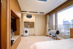 25平方米開放式公寓 (朝陽洞) - 有1間私人浴室 Sokcho The Blue Terra 속초 더 블루테라