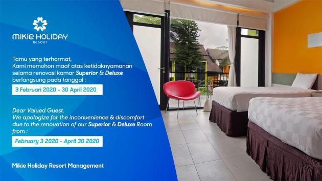 Alamat dan Tarif Mikie Holiday Resort - Mulai dari USD 40 - d8f0ff24e7923f13301eabbbc095f55d