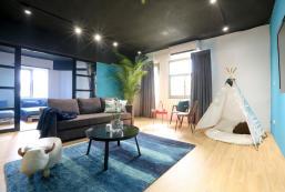 83平方米2臥室公寓 (西門町) - 有1間私人浴室 Fun Ximen,5 min MRT Ximen,24h Carrefour,5-9people