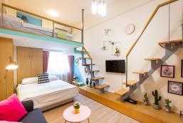 40平方米開放式公寓 (西門町) - 有1間私人浴室 City Loft Apt w/ lift near Ximen MRT, Ximending