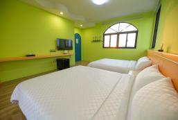 40平方米1臥室獨立屋 (澎湖) - 有1間私人浴室 2LANE9Sea View Homestay Magong City 206