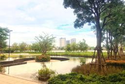 25平方米開放式公寓 (暖武里市中心) - 有1間私人浴室 River & city view, min 30 days, 3 pools, gym, MRT