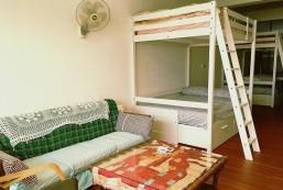 33平方米開放式獨立屋 (高樹鄉) - 有1間私人浴室 Uncle.Tu vegetable shop-Bunk bed of double bed