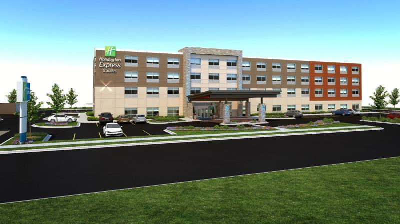 Holiday Inn Express Suites East Peoria Riverfront In