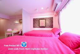 38平方米2臥室公寓 (吉祥寺) - 有1間私人浴室 Nishi-Ogikubo 2 Bedroom Type-C2 (SSH2BR-C2) 4F