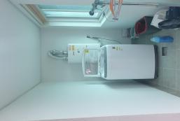 198平方米1臥室獨立屋 (漆琴洞) - 有1間私人浴室 A 충주 애플 게스트하우스  (Bunker bed room)