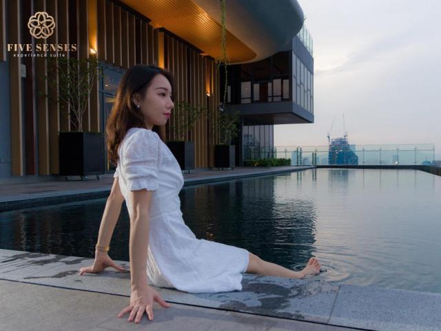 Sky Pool . Enjoy Life In Kuala Lumpur