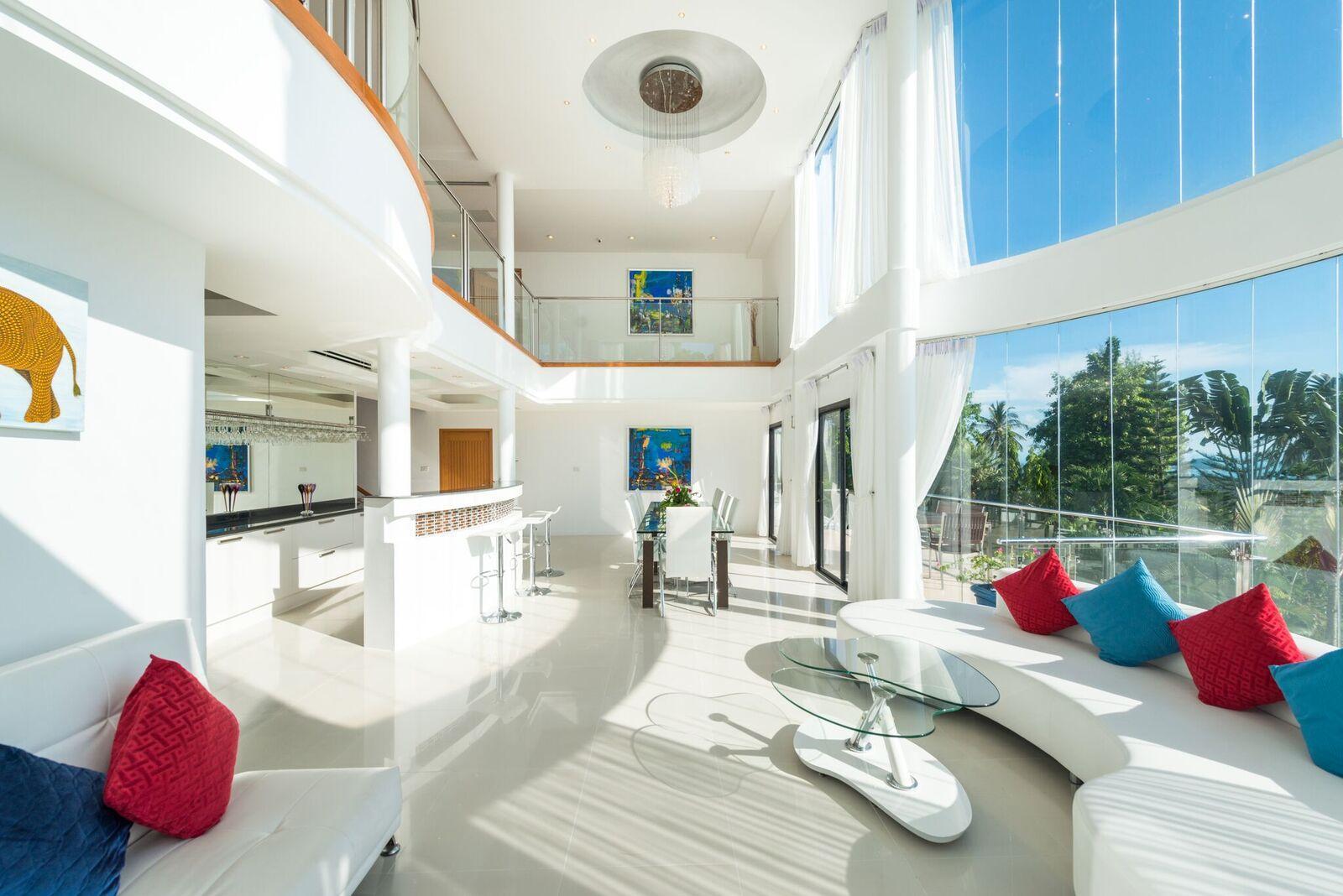 Villa White Stone With Sea View Private Pool