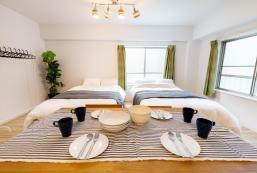 48平方米1臥室公寓(難波) - 有0間私人浴室 Fully renovated unit! 5min JR/ 8pp OK/River 201