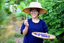 200平方米1臥室獨立屋 (班菲) - 有2間私人浴室 Private Thai Traditional House in Coconut Farm
