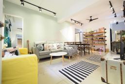 115平方米3臥室公寓 (大安區) - 有2間私人浴室 Bright,Colorful 3BD/2BA/10PPL/5min MRT