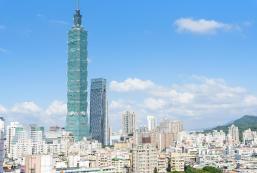50平方米開放式公寓 (信義區) - 有1間私人浴室 Lux Taipei101/Night Market/MRT/2-4 P/Kitchen/Loft