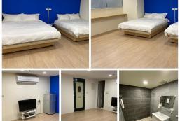 35平方米開放式公寓 (西門町) - 有1間私人浴室 Ximen station-blue Apartment