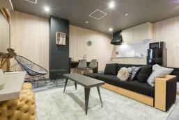 50平方米2臥室公寓 (難波) - 有1間私人浴室 Best location of Namba/Dotonbori, 2BR for 7 pax