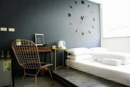 12平方米開放式公寓 (淡水區) - 有1間私人浴室 淡水雙人房{Venice} 。絕美設計公寓。24小時 自助式入住