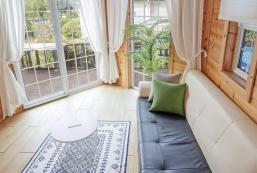 100平方米2臥室獨立屋 (安眠邑) - 有1間私人浴室 Private terrace & pool. 침대방2, 개별수영장, 잔디밭마당이 있는 독채