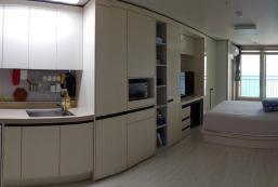 28平方米開放式公寓 (東海商東海邊) - 有1間私人浴室 Hi! Sea! (Gangneung Jumunjin Sodol)