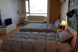 49平方米1臥室公寓 (束草港) - 有1間私人浴室 GREEN GUEST HOUSE.