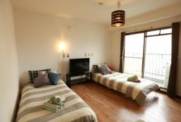 50平方米2臥室公寓(難波) - 有2間私人浴室 04 Osaka 6ppl ok 2separate room 2bath&2toilet