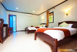 30平方米1臥室平房 (小蘭塔島) - 有1間私人浴室 Lanta Coral Beach Resort (Family Bungalow)