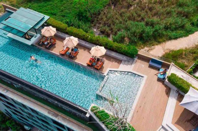 Infinity pool and gym 1 bedr at Surin and Bangtao