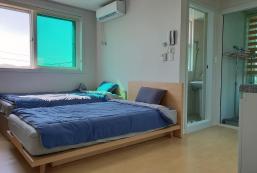 198平方米開放式獨立屋 (漆琴洞) - 有0間私人浴室 A 충주 애플 게스트하우스 (트윈베드룸) [Twin Bed Room]