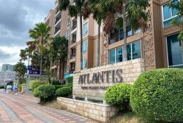30平方米1臥室公寓 (中天海灘) - 有1間私人浴室 Atlantis Condo & Water Park Pattaya 芭堤雅亚特兰蒂斯水上公园公寓