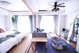 55平方米2臥室公寓(大阪) - 有1間私人浴室 Lux and quiet room/Max8 ppl/Easy Airport Kix/302