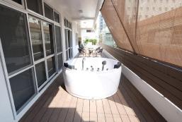 160平方米3臥室公寓(那霸) - 有2間私人浴室 160m2 apartment with hot tub in Center of Naha
