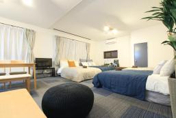 103平方米1臥室公寓(灣區) - 有1間私人浴室 Near USJ! BIG room!5min to Sakurajima st. f2 Osaka