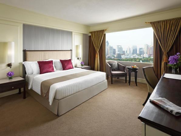 スーペリア キング - お部屋概要 デュシタニ バンコク ホテル (Dusit Thani Bangkok Hotel)