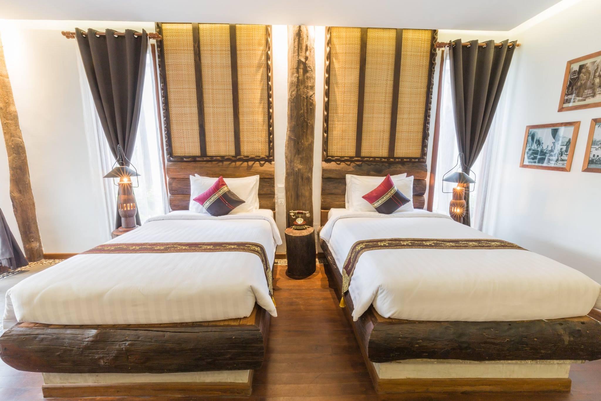 Java Wooden Villa Residence In Cambodia