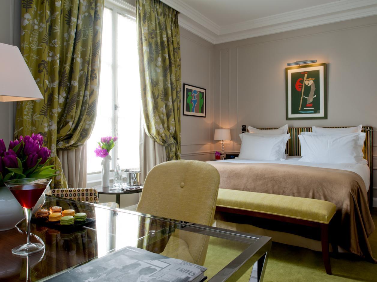 Le Burgundy Hotel In Paris